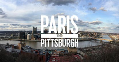from paris to pittsburgh
