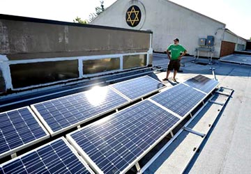 SOlar for Synagogues