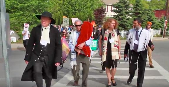 roxbury pipeline protest