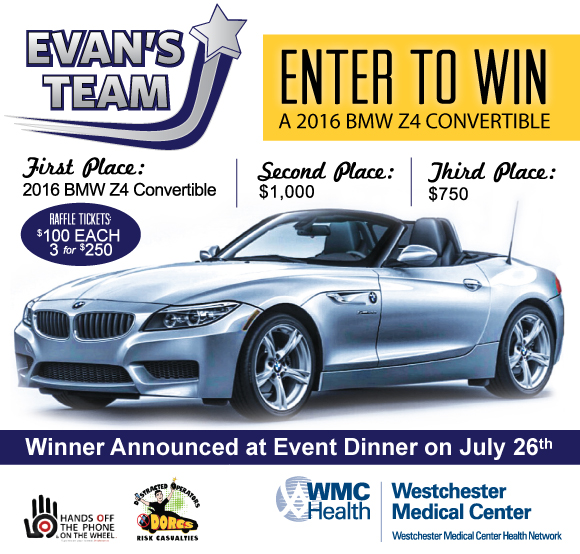2016 Bmw Z4 Convertible: EVAN'S TEAM 2016 BMW Z4 CONVERTIBLE RAFFLE