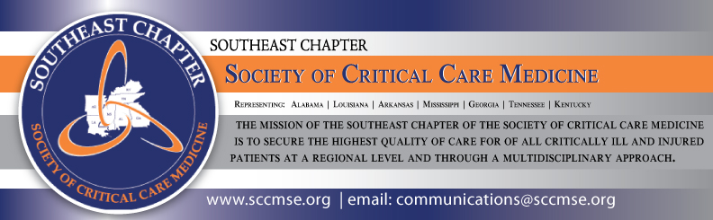 Southeast Chapter of the SCCM Quarterly Meeting - November