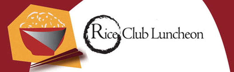 Rice Club Luncheon Banner