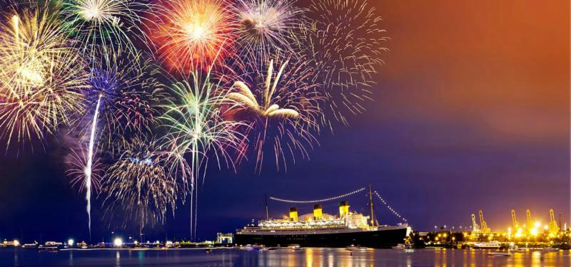 Fireworks Over POLB