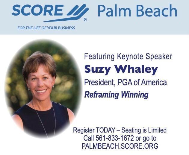 Featuring Keynote Speaker Suzy Whaley President_ PGA of America Reframing Winning