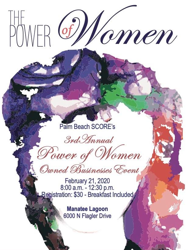 the power of women owned businesses event palm beach score february 21 2020