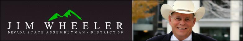 Assemblyman Jim Wheeler header