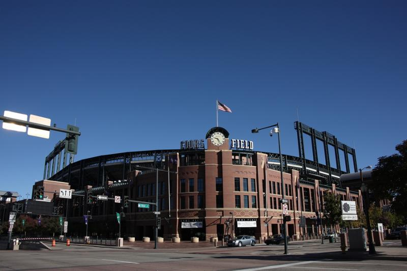 Coors Field, home of the Rockies