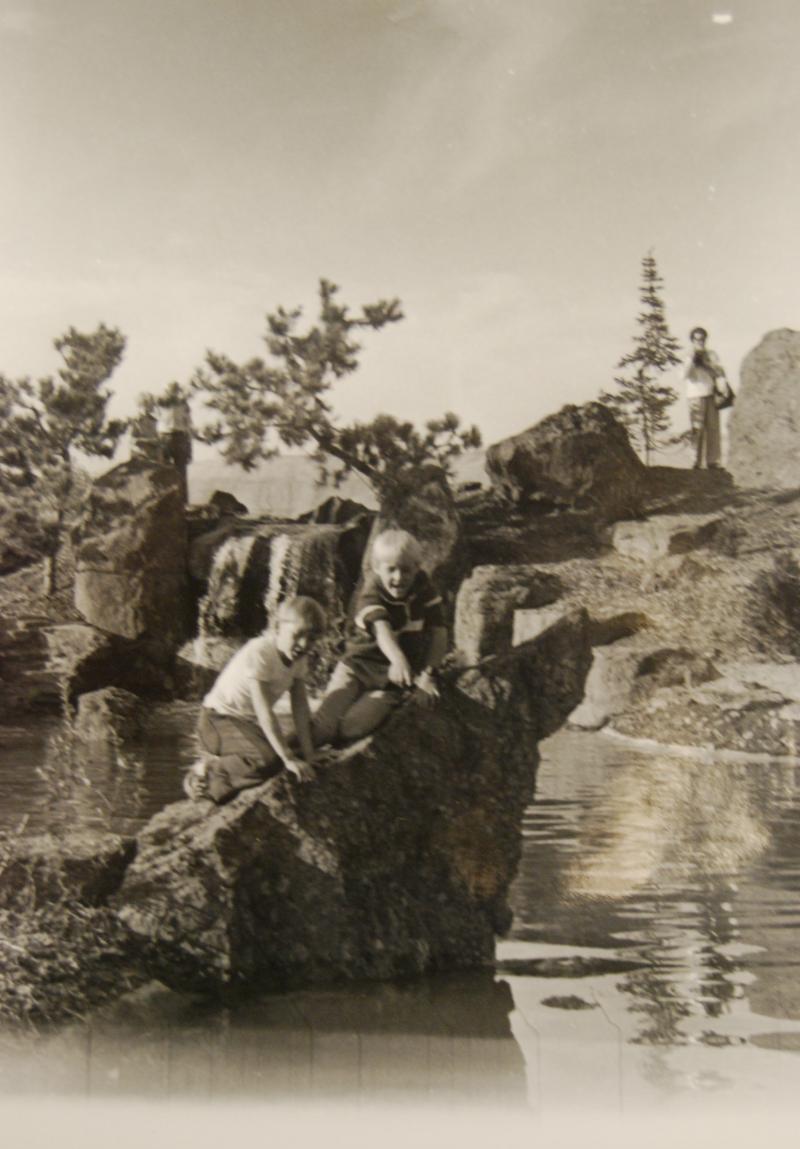Historic Boys on the Rock