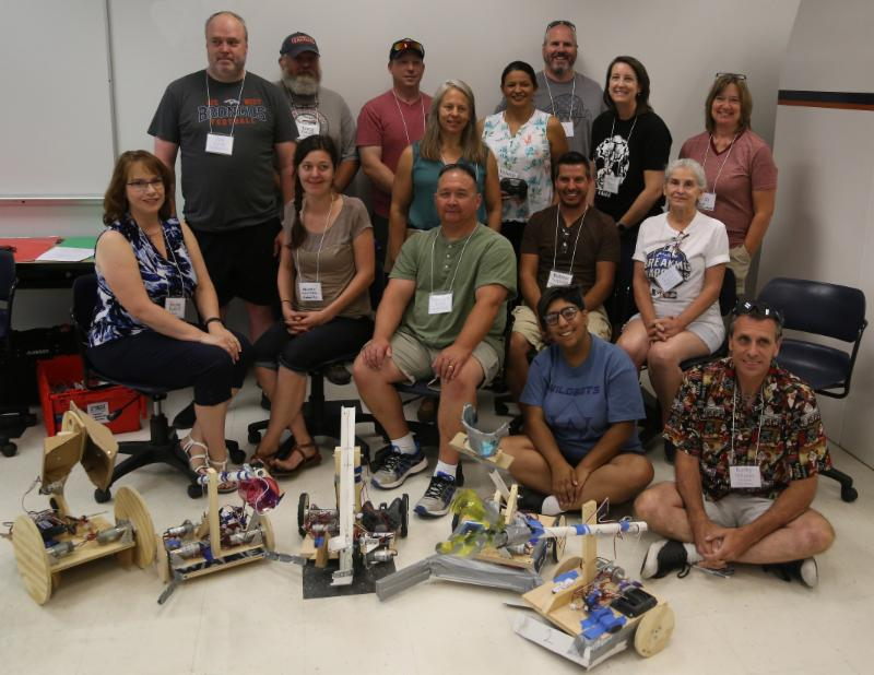 2018 TMI Teachers and Robots