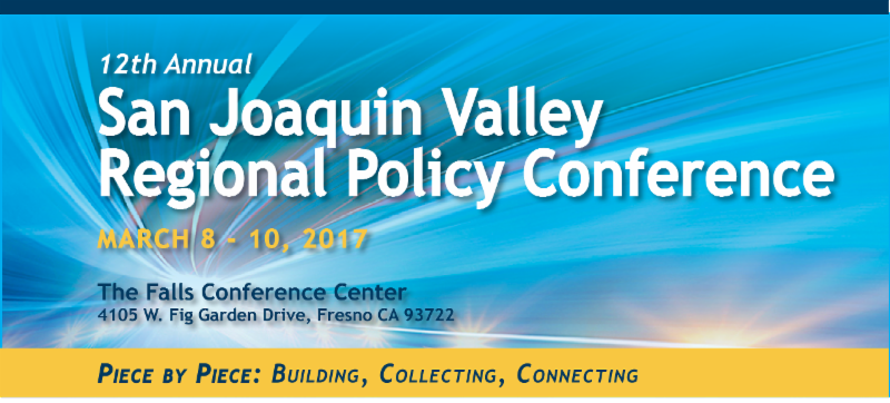 12th annual san joaquin valley policy conference 2017 about the conference the annual san joaquin valley policy conference is hosted by the san joaquin valley regional policy council representing eight malvernweather Images