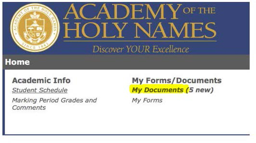 Course Selection - Academy of the Holy Names | Catholic School in