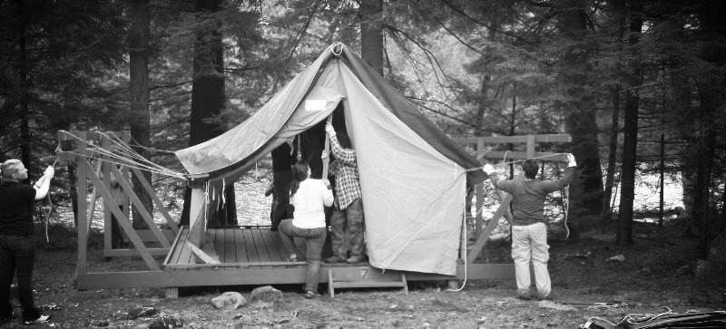 Tent at CLN