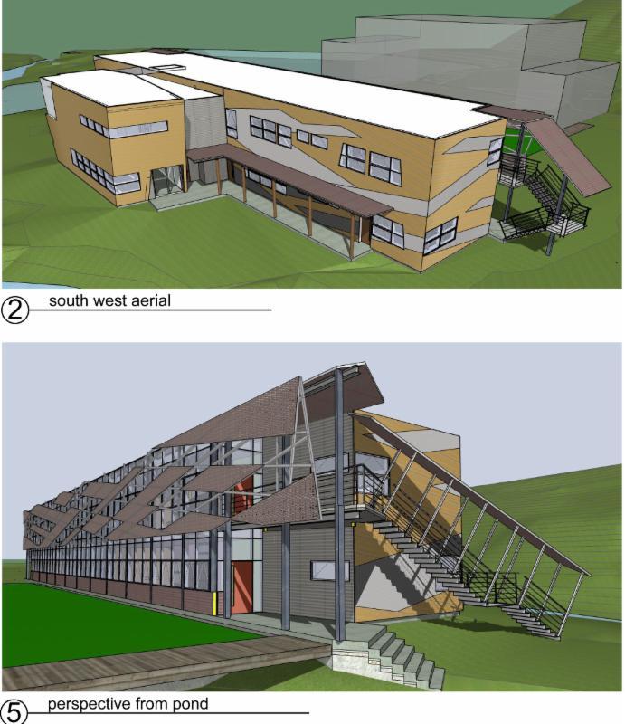Building 7 rendering