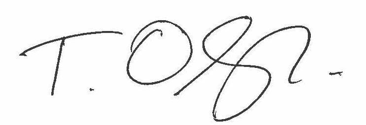 Terry Olszewski Signature
