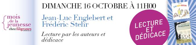 Dimanche 16 octobre à 11h - Jean-Luc Englebert et Frédéric Stehr