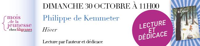 Dimanche 30 octobre à 11h - Philippe de Kemmeter