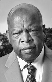 Georgia Congressman John Lewis_ author of the March graphic novel trilogy