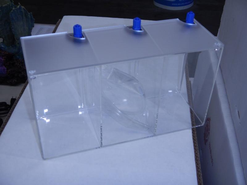3 chamber container