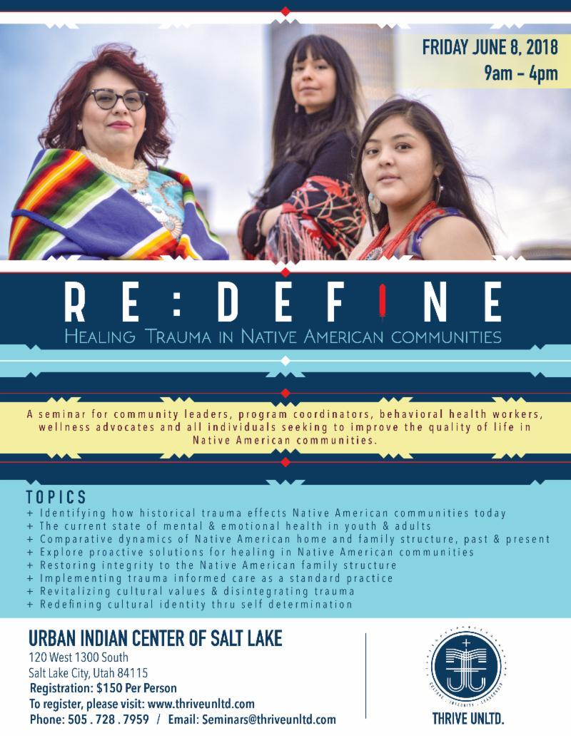 Re:Define - Healing Trauma in Native American Communities / Salt ...