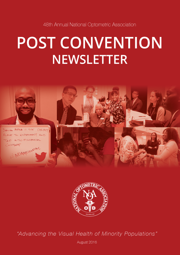 Post Convention Newsletter Cover