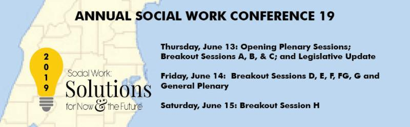 Annual Conference Daily Breakout Sessions
