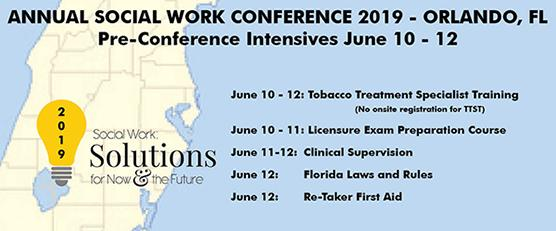 Pre-Conference Intensives June 10-12_ 2019