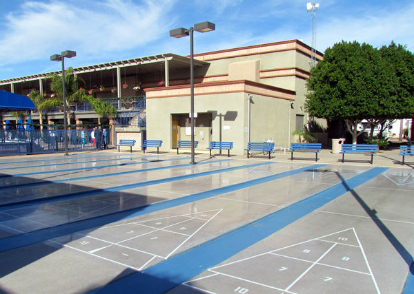 Shuffle Board courts
