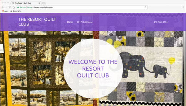 The Resort Quilt club home page