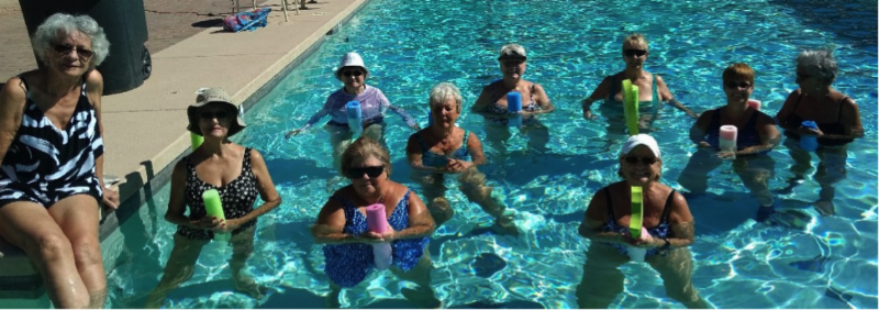water aerobics club picture