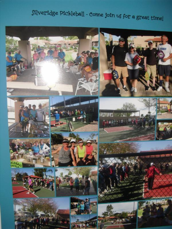 Pickleball Collage