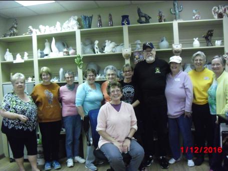 Ceramics Club Photo
