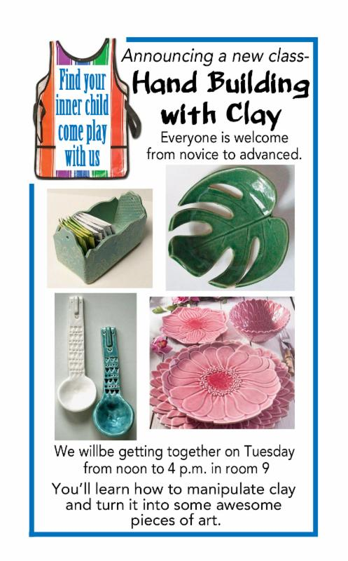 clay making brochure