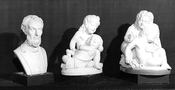 three Edmonia Lewis sculptures