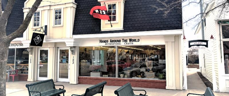 Photo of Hands Around the World Store Front located at 123 Central Ave. in Orange City, IA