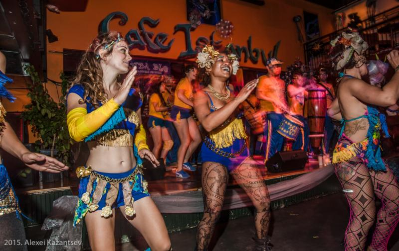 anba dlo halloween festival - New Orleans Halloween Parties