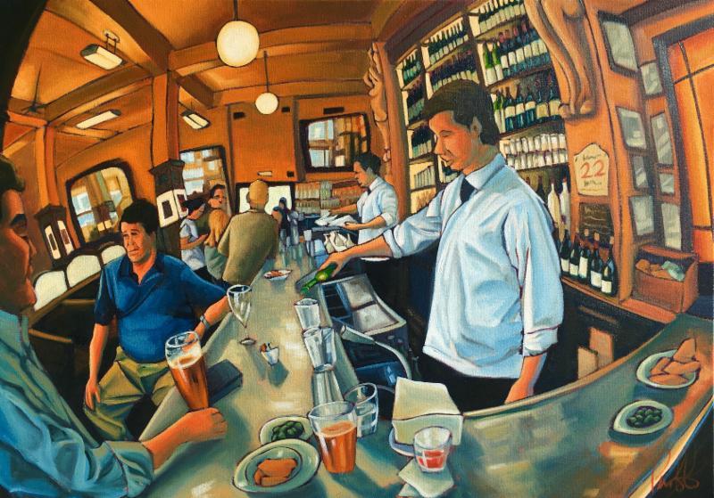 The Balthazar bar and restaurant