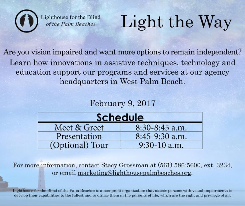 February 9_ 2017 Light the Way invitation