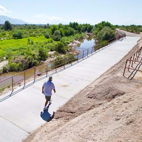 Santa Cruz River credit Pima County