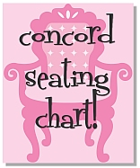 Seating Instructions!
