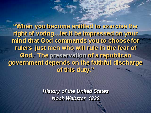 Noah Webster on Voting