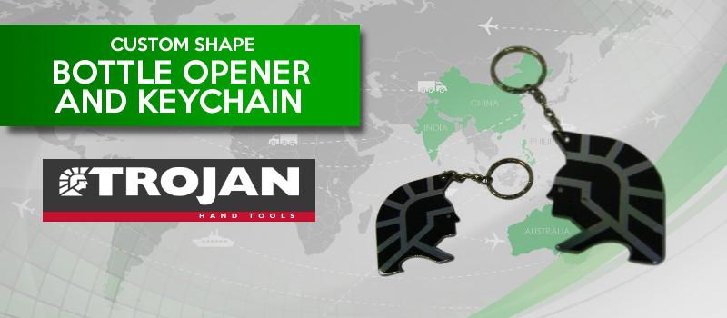 China Sourcing: Trojan Hand Tools keychain