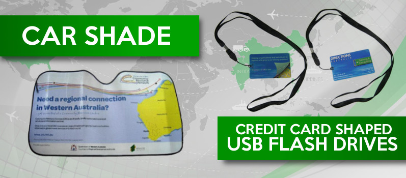 Car Shade and USB flash drive China sourcing