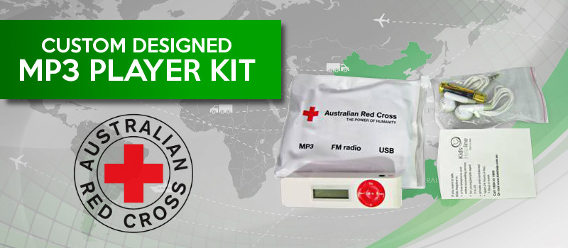 Australian Red Cross promotional product importing from China