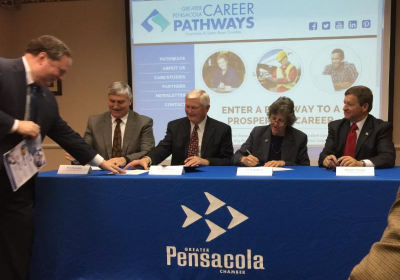 Career Pathways Signing
