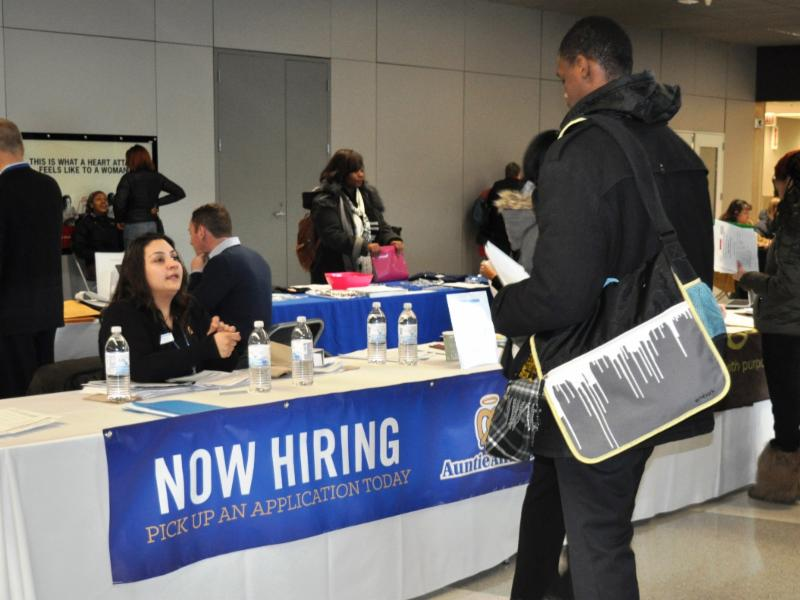 News article flychicago chicago february 24 2015 more than 400 people attended the airport concessions job fair today at ohare international airport hosted by the chicago m4hsunfo