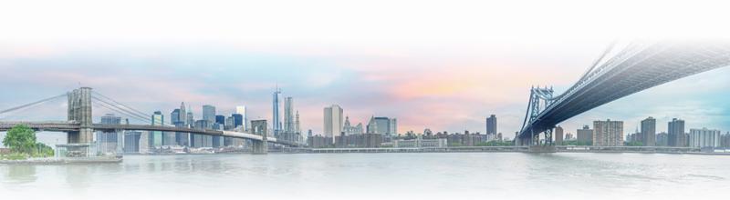 NYC Bridges over water