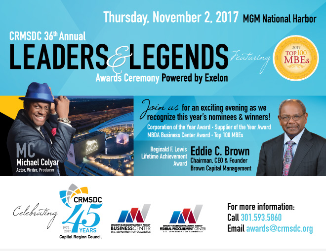 Leaders and Legends Awards Ceremony