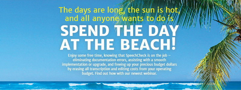 The days are long, the sun is hot and all everyone wants to do is SPEND THE DAY AT THE BEACH!