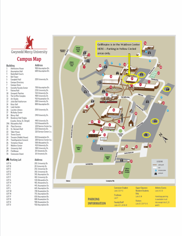 u of d mercy campus map Regional Student Conference Spring 2017