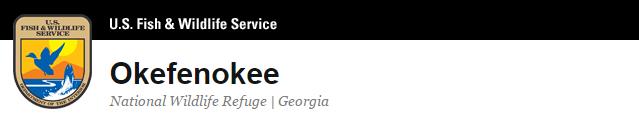 Okefenokee Wildlife Refuge Logo
